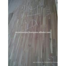 Tablero de la junta del dedo del pie de Acacia de Vietnam