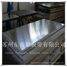 Chapa de aluminio chapa precio de metal 1050/3003