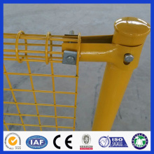 DM powder coated double circle metal wire mesh fence from factory in Alibaba