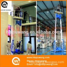 Dual mast hydraulic aluminium access equipment