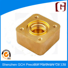 OEM Copper Pump Valve Part CNC Machining