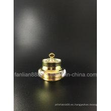 Tarros de crema de acrílico de la forma de la corona 30g para el empaquetado cosmético