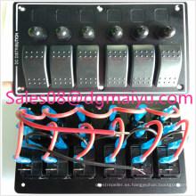 Interruptor de corriente del vehículo de corriente grande del automóvil Racing Interruptor de modificación de automóvil modificado Interruptor de combinación