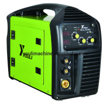 Machine à souder portable MIG / MMA à onduleur IGBT dc IGBT MIG-250MI
