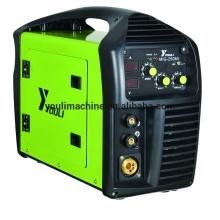 Портативный инвертор IGBT постоянного тока Сварочный аппарат MIG / MMA MIG-250MI