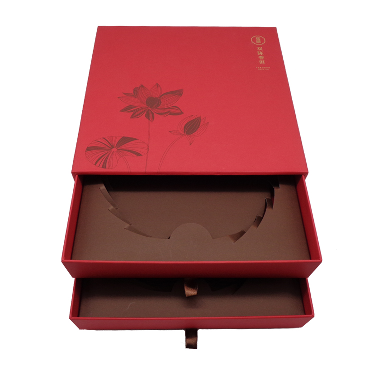 Luxury Rigid Paper Gift Box For Tea
