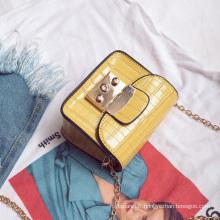 sac de dame jaune sac à bandoulière unique longue pour les filles