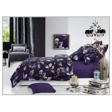 2015 NEW 100% cotton satin 205T Twill style Reactive print wholesale luxury bed linen set