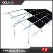Montage en aluminium solaire de toit d'étain de puissance verte (XL202)