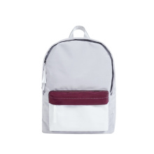 Fashion Contrast Funky Color Backpack Borse per libri universitari
