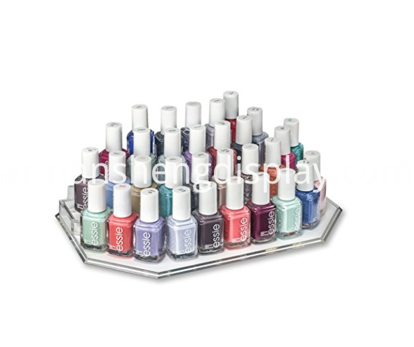 Clear Acrylic Nail Polish Display
