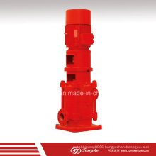 Compact Hydraulic Vertical Fire Fighting Water Pump