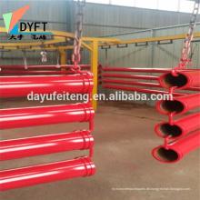 China die St52 / 1.6m Stahl Betonpumpe Teile reduzieren Rohr