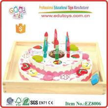 Geburtstagstorte Hölzerne Kinder Spielzeug