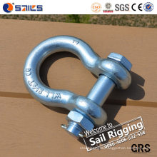 Us G2130 Forged Galvanized Bolt Type Anchor Shackle