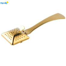 Stainless Steel Golden Square Tea Infuser