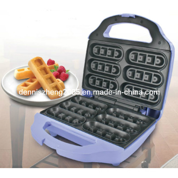 Gaufre Sticker Maker-Fit 5 ou 6 bâtonnets de gaufre