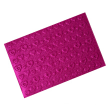 Competitive price embossed heart shape colorful EVA glitter sheets for crafts
