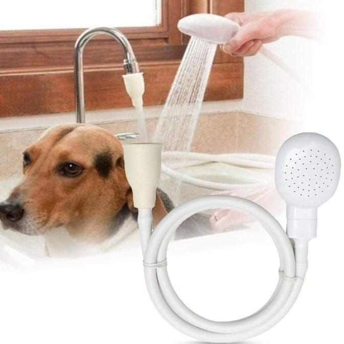 Portable Dog Bathing Faucet