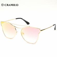 Gafas de sol de gran calidad con diseño grande de Italia