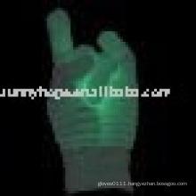 flashing glove