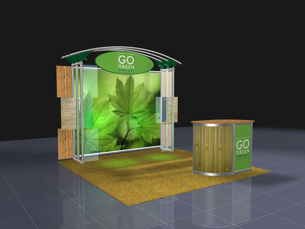 Trade Show Booth Exhibit Display