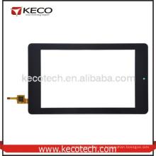 Pantalla de digitalizador de vidrio táctil frontal para Acer Iconia B1-730 B1-730HD