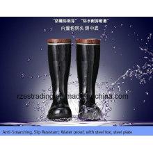100% добычи безопасность сапоги с стальным носком, стальные пластины
