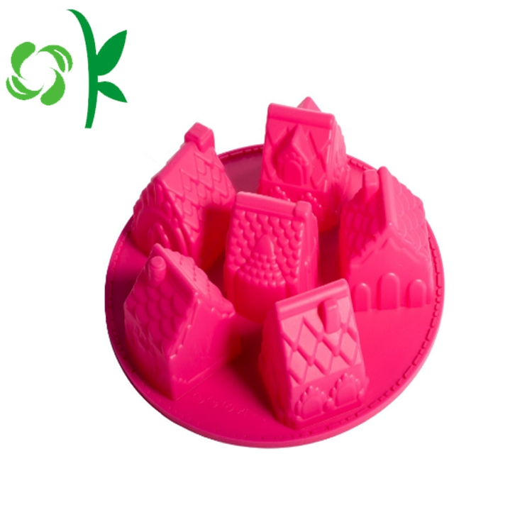 3d Six Soap Mold Cute