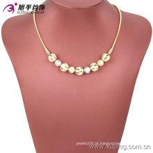 63494 Venda Quente Multicolor Bead Jewelry Set com Cobre Ambiental para Mulheres