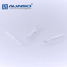 150ul 5.8mm micro glass insert for autosampler 1.5ml screw glass vials