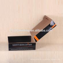 Caja de cartón corrugado de cartón de impresión personalizada para el envío