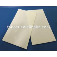 Placas cerâmicas cerâmicas Ultrathin da zircônia da folha / ZrO2 / carcaça cerâmica para o Backage do telemóvel