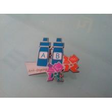 Unregelmäßiger Formabzeichen, Emaille Bunter Revers Pin (GZHY-LP-056)