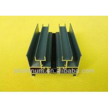 Perfis de alumínio de corte térmico para portas