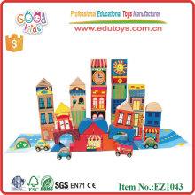 City Blocks Toys Wooden Block Construction Toys