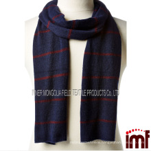 Women's Raised Stripe Cashmere Scarf