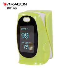 ДГ-82C одобренный FDA медицинский палец Пульс кислорода в крови Пульсоксиметр