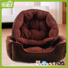 Замшевые ткани сгущенные и теплые Pet кровать (HN-pH565)