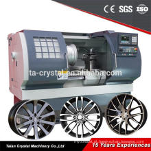 Máquina de reparo de aro de torno CNC para remodelação de roda AWR2840