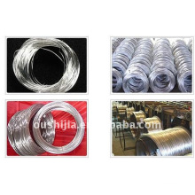 Galvanized annealed steel wire