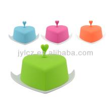 Runde Keramik Butterdose