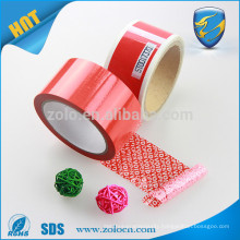 Free product samples custom printed vinyl security tape waterproof pet sealing tape in adhesive tape