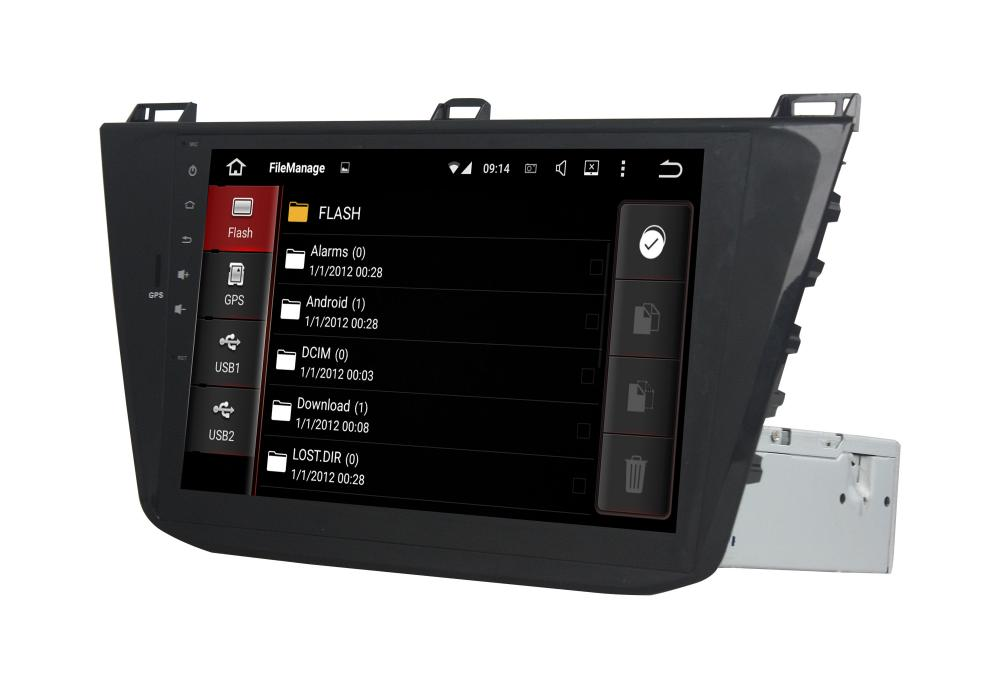 10.1 Inch Car GPS Player for VW Tiguan 2015