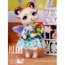BJD Dream Island Chocolate Pocket Pets Gliederpuppe