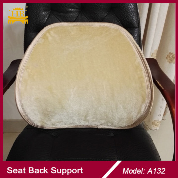 Winter Fur Seat Chair Back Support, Car Seat Fur Back Support