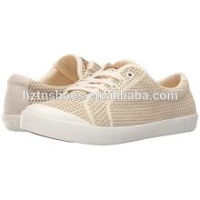 Ladies Fashion Textile Upper Canvas Shoe