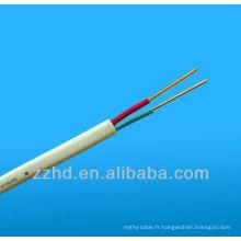 Câble électrique plat VAF-GRD pour câble VAF