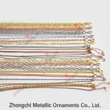 Цепное ожерелье из цельной латуни для ювелирных изделий Jewellry