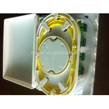 FDB-104B 4 centrais SC / APC ftth caixa de terminação interior com 1,5 m pigtail